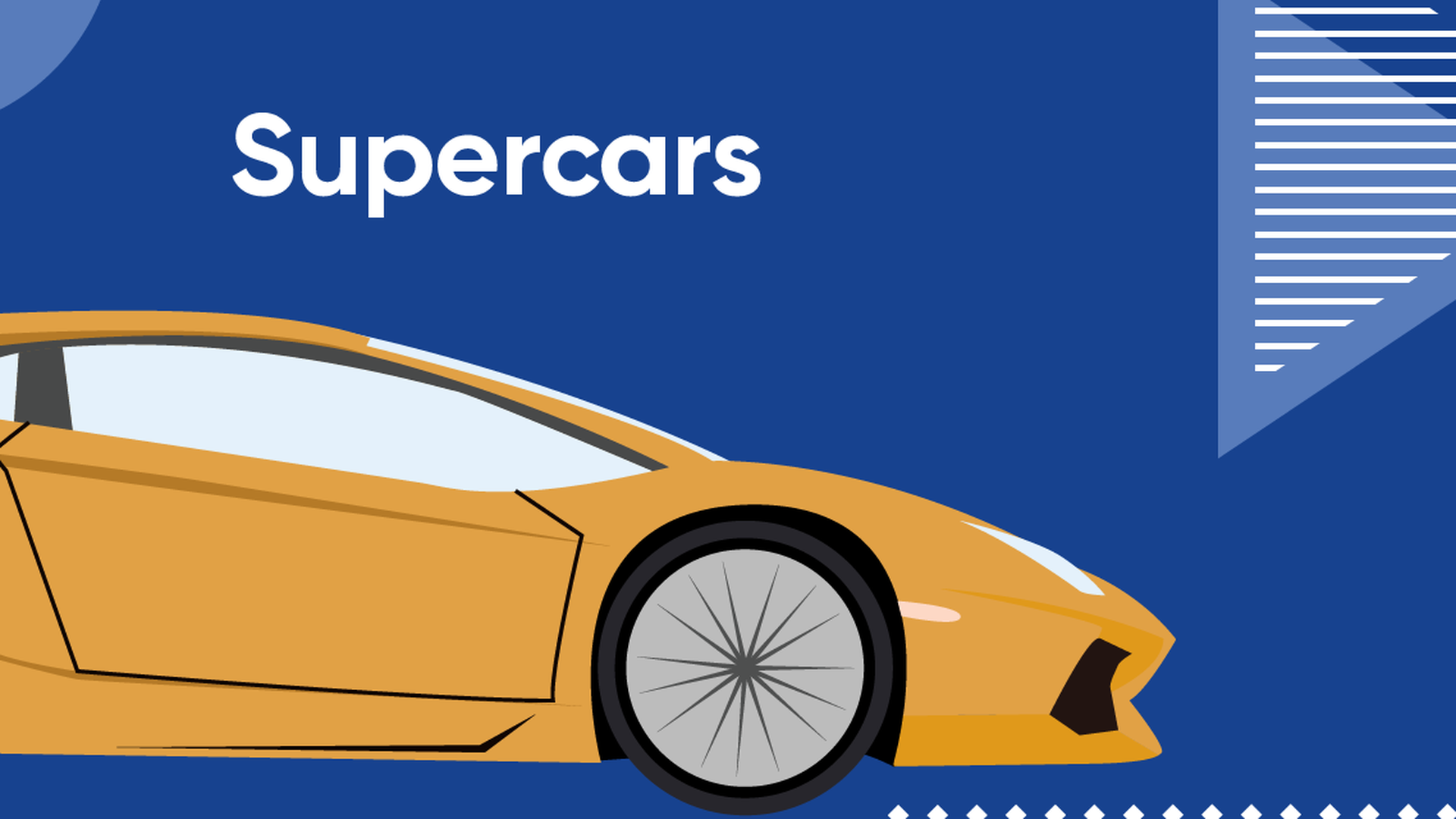 Featured Image of Class B - Supercars and Exotics